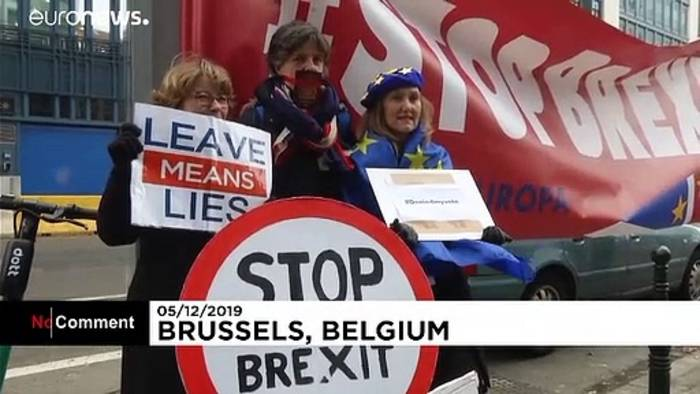 Video: Mit umgedichtetem Lennon-Song: EU-Beamte protestieren gegen Brexit