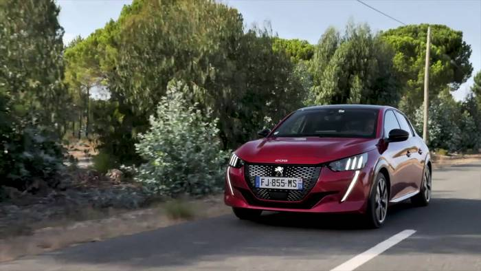 """News video: """"Auto Trophy"""" für den neuen PEUGEOT 208"""