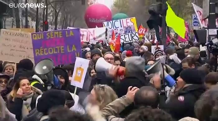 News video: Frankreich erwartet neuen Generalstreik