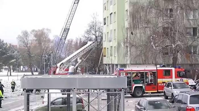 Video: Slowakei: Fünf Tote bei einem Brand in einem Hochhaus