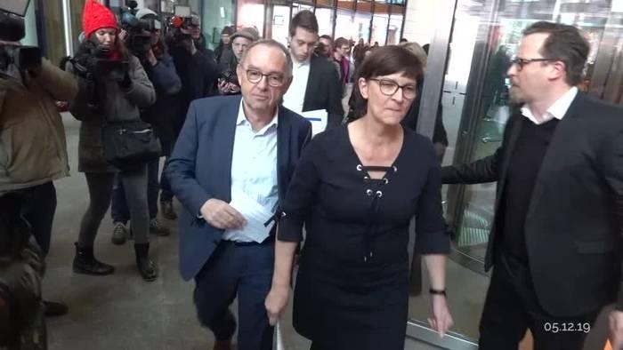 News video: GroKo-Aus an Nikolaus? SPD wählt neue Parteispitze