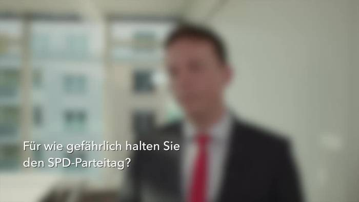 News video: Saar-Regierungschef Hans fordert Signal für Koalitionstreue