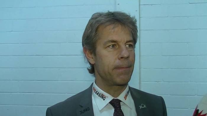 News video: Augsburgs Manager Duanne Moeser: