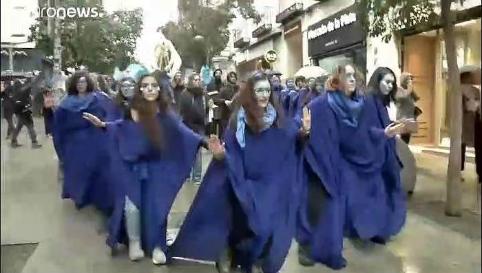 News video: COP 25: Extinction Rebellion demonstiert in Madrid