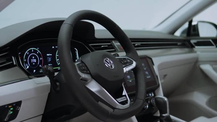 News video: Der neue Volkswagen Passat Infotainment System
