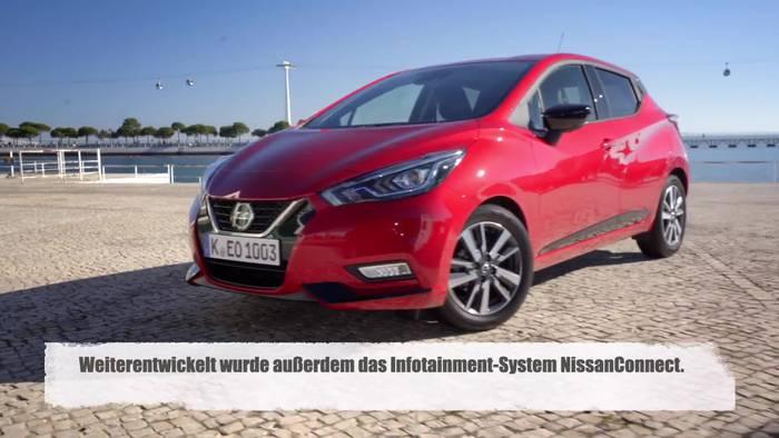 News video: Mehr Micra - Nissan City-Flitzer mit neuen Motoren und N-Sport-Ausstattung