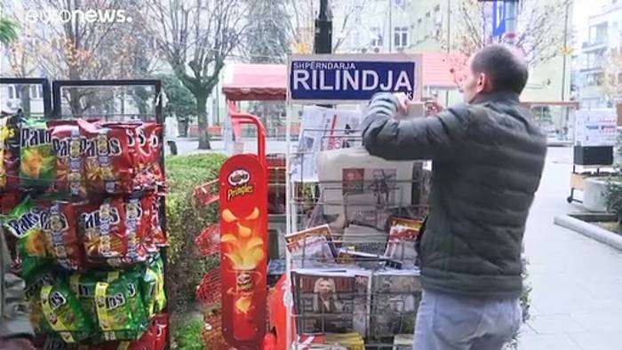 News video: Nobelpreisverleihung an Handke: Kosovo und Albanien sagen ab