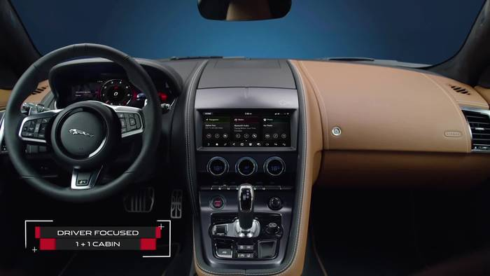 Video: Der neue Jaguar F-TYPE - Das Interieur-Design