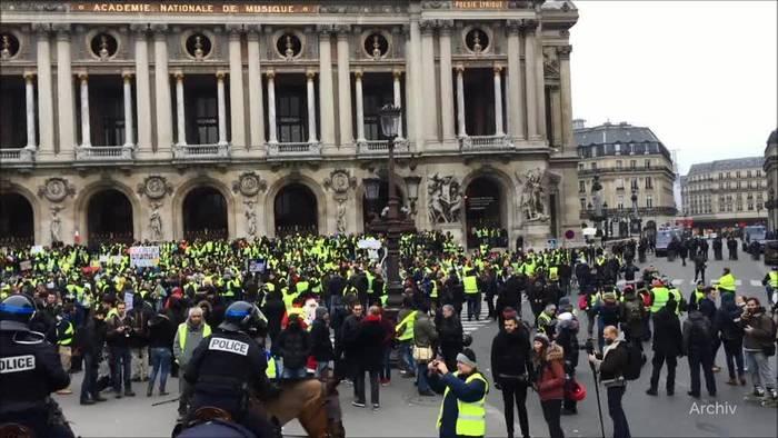 News video: Frankreich: Neue Streiks und Protest gegen Rentenpläne