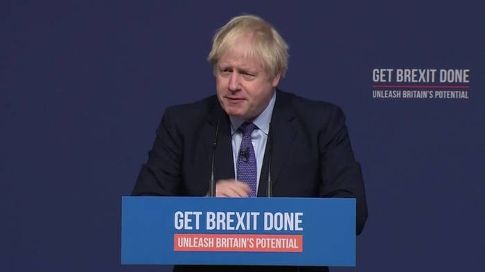 Video: Boris Johnson betreibt mit