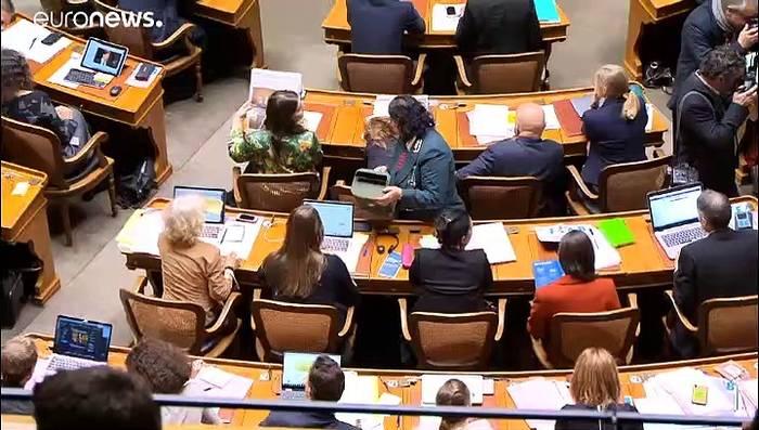Video: Alles beim Alten: Grüne nicht in neuer Schweizer Regierung