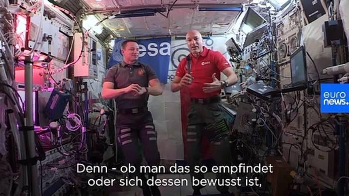 Video: Psychisch gesund bleiben im Weltall - die Geheimnisse der ISS-Besatzung