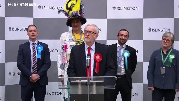 News video: Wahlsieger Johnson: