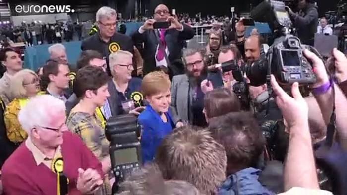 News video: Schottische Regierungschefin Sturgeon will wieder über Unabhängigkeit abstimmen lassen