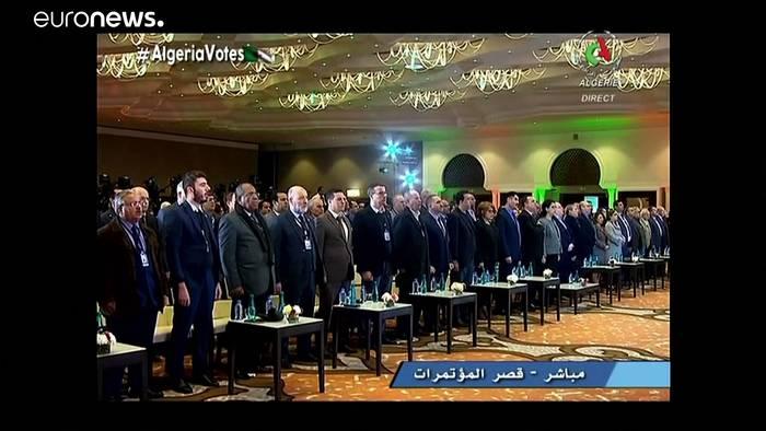 News video: Algerien wählt früheren Regierungschef zum Präsidenten