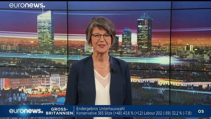 News video: Euronews am Abend | Die Nachrichten vom 13.12.2019