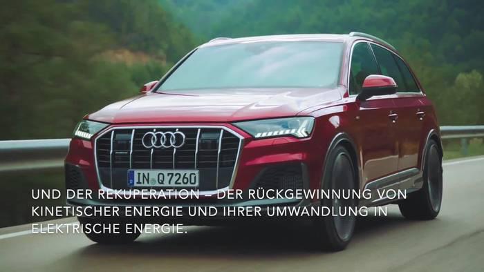 News video: Der Audi Q7 TFSI e quattro - Noch mehr Effizienz - Freilauf und Rekuperation