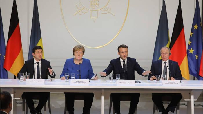News video: Ukraine-Gipfel: Waffenruhe in der Ostukraine bis Jahresende