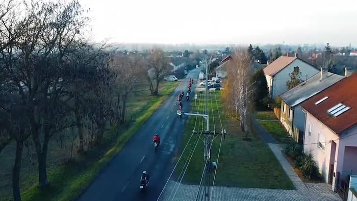 News video: Ungarn: Nikolaus-Biker Tour in Györ!