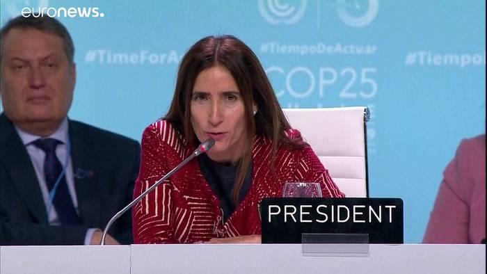 News video: COP25: Klimaverhandlungen gehen in die Verlängerung