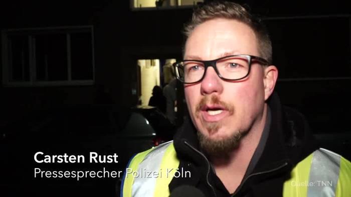 News video: Mord in Köln?: Lebloser Mann liegt in brennender Wohnung