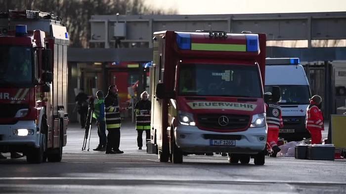 News video: München: Katastrophenschutzübung zur Fußball-EM 2020