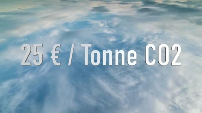 News video: Durchbruch beim Klimapaket: CO2-Preis steigt deutlich