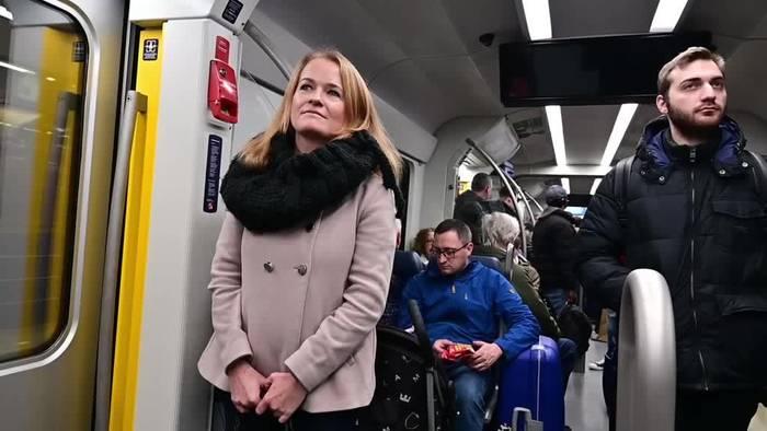 News video: Die Stimme der Münchner S-Bahn: Regina Wallner