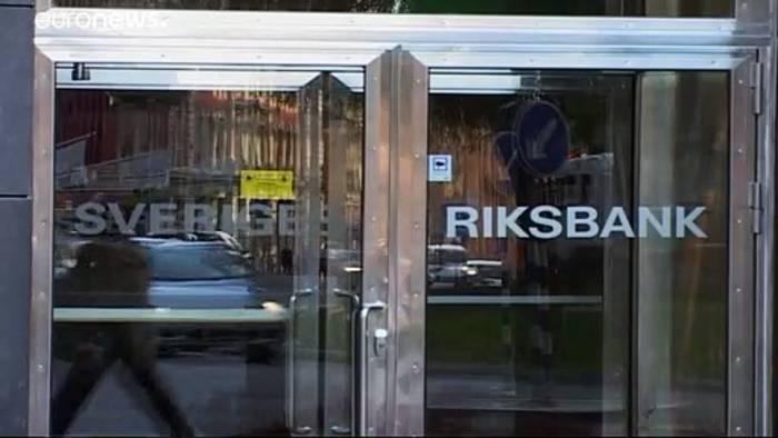 News video: Sparer hoffen: Schwedens Leitzins steigt auf 0 Prozent