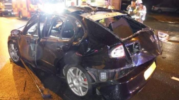 News video: Explosion wegen Duftspray: Autofahrer zündet Zigarette im Wagen an