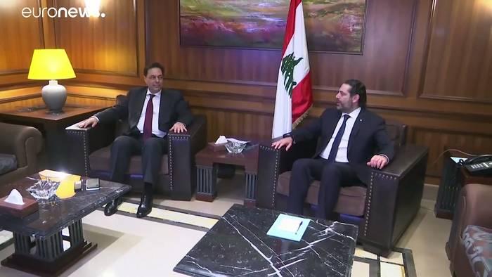News video: Libanon: Hassan Diab bildet neue Regierung