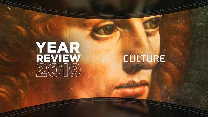 News video: Lagerfeld, Domingo und Handke: Ein kulturelles Jahr geht zu Ende