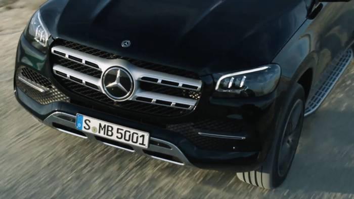 News video: Der neue Mercedes-Benz GLS - Die S-Klasse unter den SUV