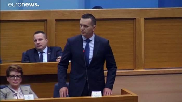 News video: Republika Srpska: Minister schlägt zu