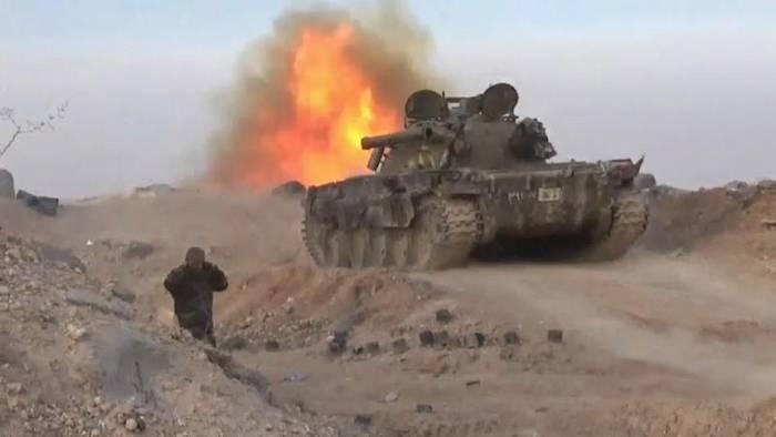 Video: Syrien: Schwere Kämpfe mit Toten in Idlib
