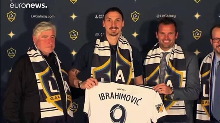 News video: Zlatan Ibrahimovic unterschreibt beim AC Mailand