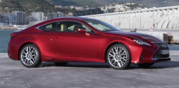 News video: Der neue Lexus RC 300h LUXURY Design