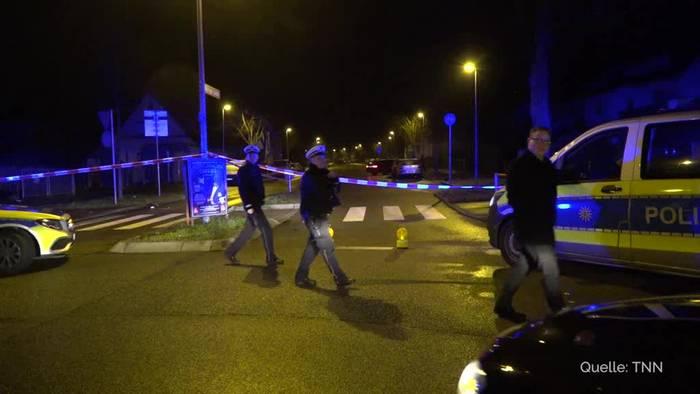 News video: Polizei erschießt Autofahrer nach Unfall in Stuttgart