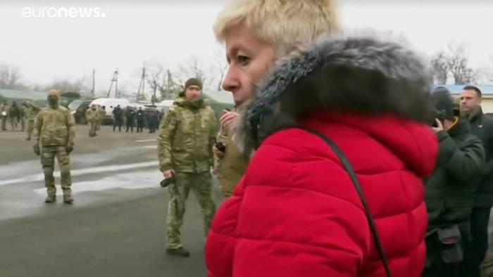Video: Gefangenenaustausch in Horliwka
