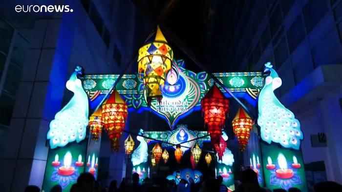 News video: Lichterfest in Malaysia