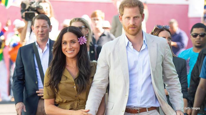 News video: Prinz Harry & Herzogin Meghan sichern sich Markenrechte für Sussex Royal