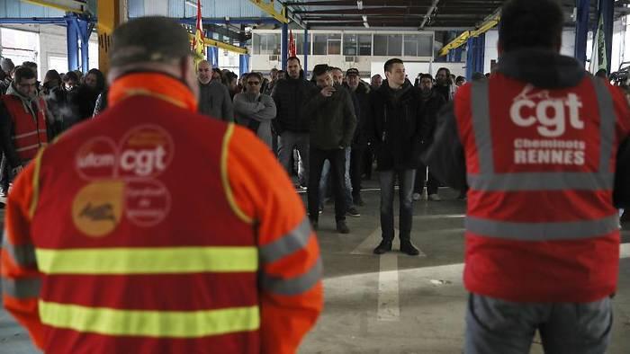 Video: 26 Tage Arbeitskampf in Frankreich - Längster Streik seit 1995
