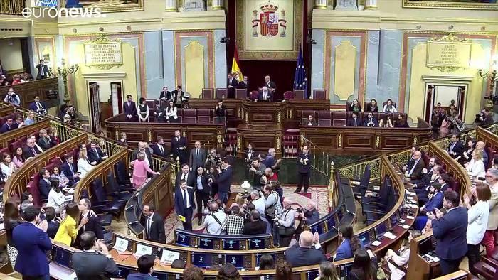 News video: Höhere Steuern für wohlhabende Spanier: Regierungsbildung bleibt auf der Kippe