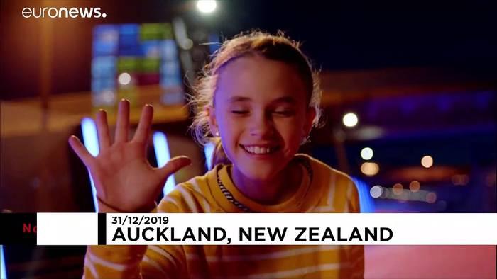 Video: Silvesterfeier in Auckland - Neuseeland begrüßt das neue Jahr