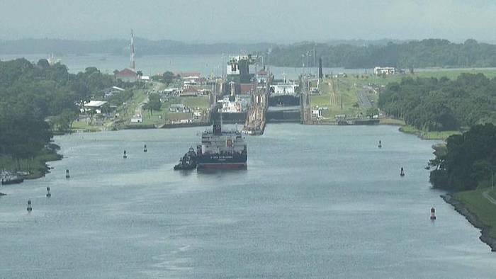 Video: Panamakanal von Wassermangel bedroht