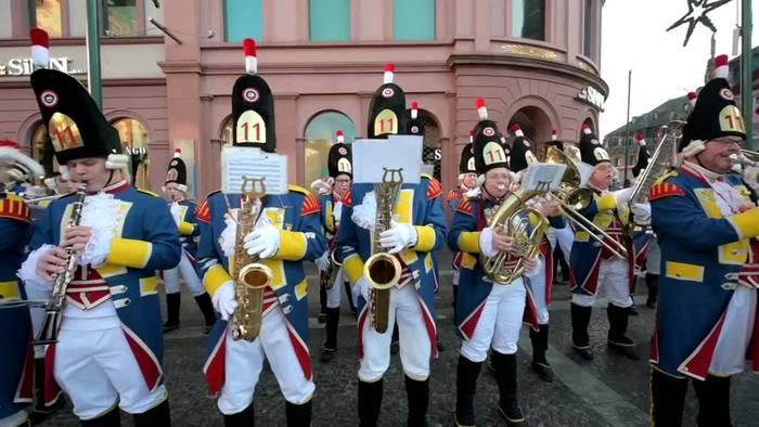 News video: Farbenfroher Start in die Karnevalszeit in Mainz