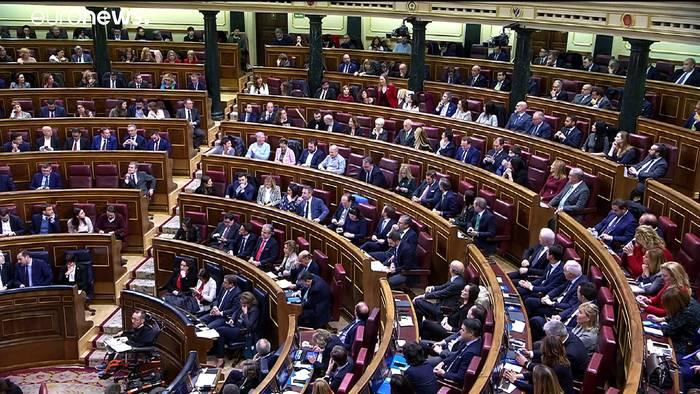 Video: Katalanische Separatisten entscheiden: Unterstützung für Sánchez?
