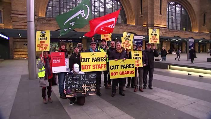 News video: England: Frust über Unpünktlichkeit bei Deutsche-Bahn-Tochter