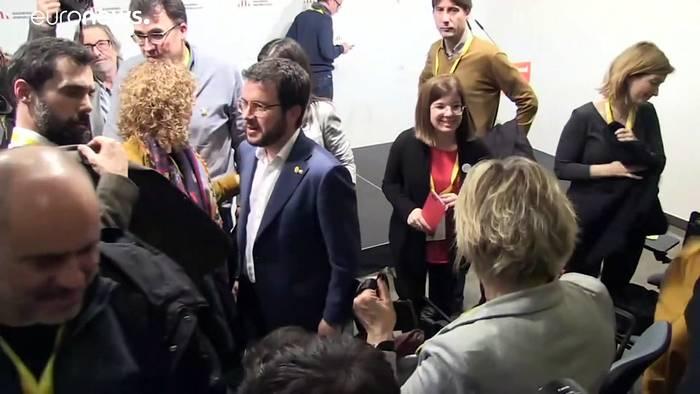 Video: Katalanische ERC will Sánchez' Wiederwahl unterstützen