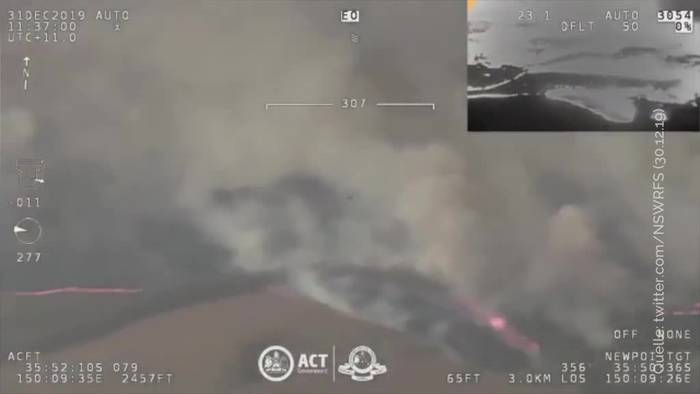 News video: Feuerinferno in Australien: Neue Hitzewelle erwartet